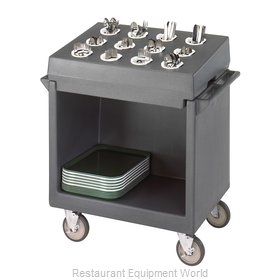 Cambro TDCR12191 Tray and Silver Cart
