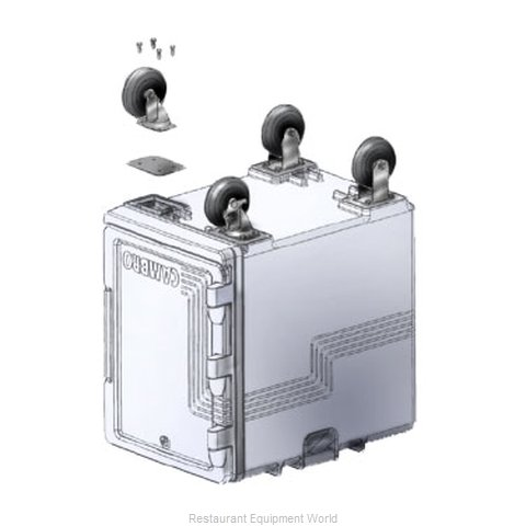 Cambro UPCS400CK Casters Kit (Magnified)