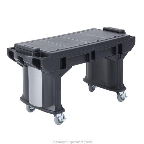 Cambro VBRTHD5110 Serving Counter Cold Pan Salad Buffet (Magnified)
