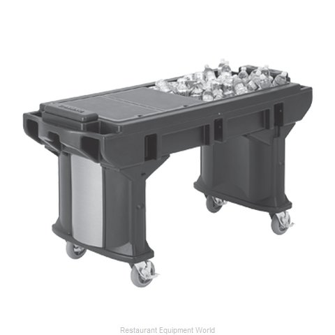 Cambro VBRTHD6146 Serving Counter Cold Pan Salad Buffet (Magnified)