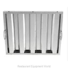 Captive Aire HRSS1620 Replacement Stainless Steel Baffle Filter