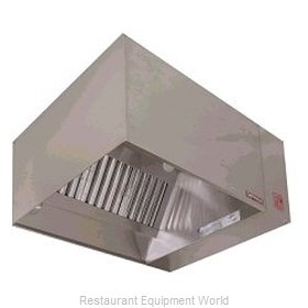Captive Aire ND-8 Exhaust Only Hood
