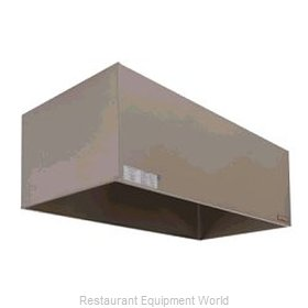 Captive Aire VH1-4242PKG Non-Grease Application Exhaust Hood Package