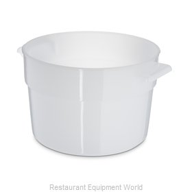 Carlisle 020002 Food Storage Container, Round