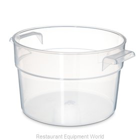 Carlisle 020530 Food Storage Container, Round
