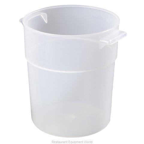 Carlisle 035530 Food Storage Container, Round