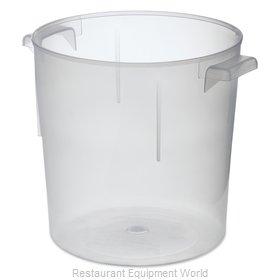Carlisle 060530 Food Storage Container, Round