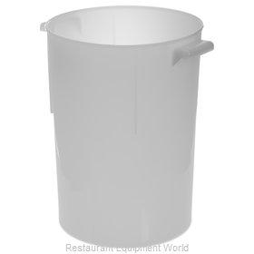 Carlisle 080002 Food Storage Container, Round
