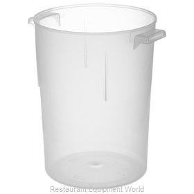 Carlisle 080530 Food Storage Container, Round