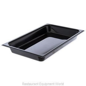 Carlisle 10400B03 Food Pan, Plastic Hi-Temp