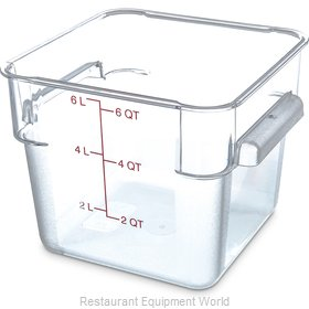 Carlisle 1072207 Food Storage Container, Square