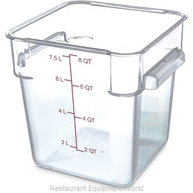 Carlisle 1072307 Food Storage Container, Square