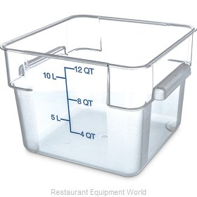 Carlisle 1072407 Food Storage Container, Square