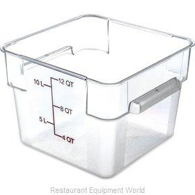 Carlisle 10724AF07 Food Storage Container, Square