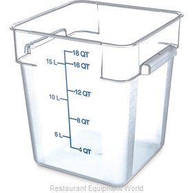 Carlisle 1072507 Food Storage Container, Square