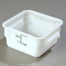 Carlisle 1073002 Food Storage Container, Square