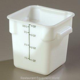 Carlisle 1073102 Food Storage Container, Square