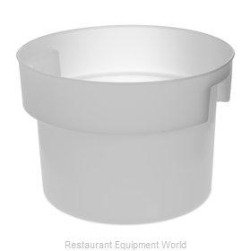 Carlisle 120002 Food Storage Container, Round