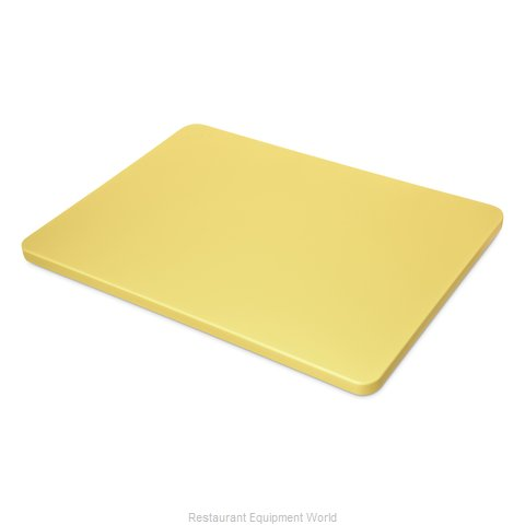 Carlisle 1288204 Cutting Board, Plastic