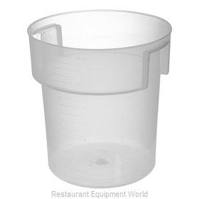 Carlisle 180530 Food Storage Container, Round