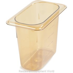 Carlisle 3088813 Food Pan, Plastic Hi-Temp
