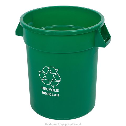 Carlisle 341020REC09 Trash Garbage Waste Container Stationary