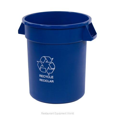 Carlisle 341020REC14 Trash Garbage Waste Container Stationary