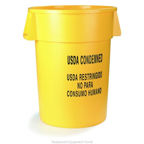 Carlisle 341020USD04 Trash Garbage Waste Container Stationary