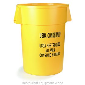 Carlisle 341020USD04 Trash Can / Container, Commercial