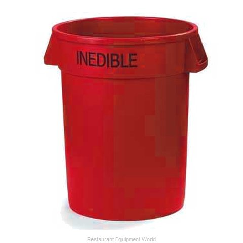 Carlisle 341032INEB05 Trash Garbage Waste Container Stationary (Magnified)