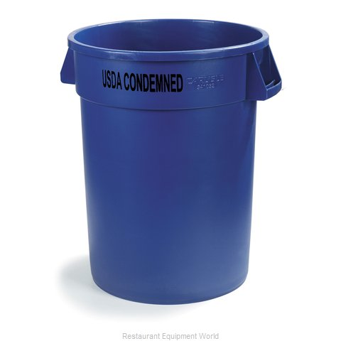 Carlisle 341032USDA14 Trash Garbage Waste Container Stationary