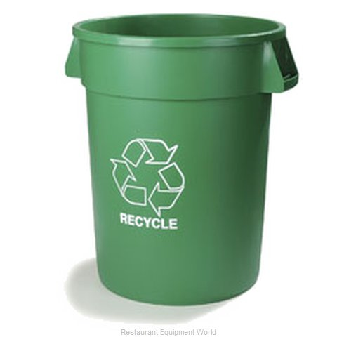 Carlisle 341044REC09 Trash Garbage Waste Container Stationary