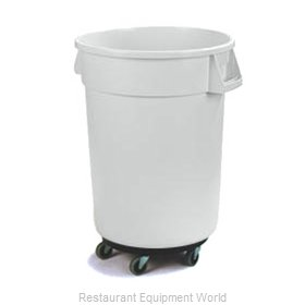 Carlisle 34113202 Trash Receptacle, Mobile