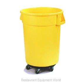 Carlisle 34113204 Trash Receptacle, Mobile