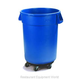 Carlisle 34113214 Trash Receptacle, Mobile