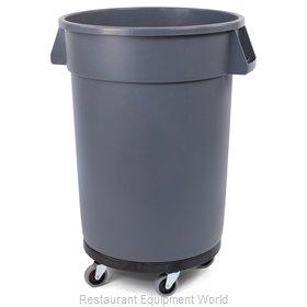 Carlisle 34113223 Trash Receptacle, Mobile