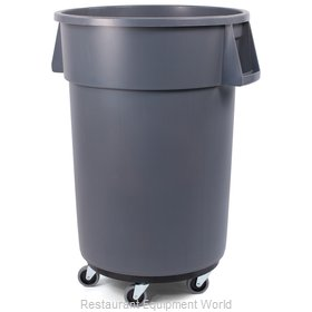 Carlisle 34114423 Trash Receptacle, Mobile