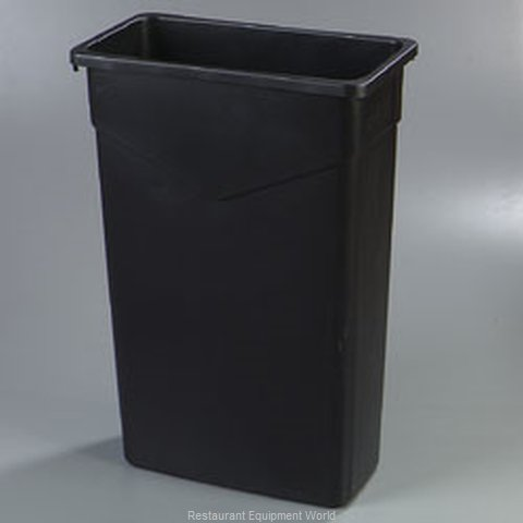 Carlisle 34201506 Trash Garbage Waste Container Stationary