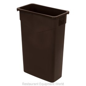 Carlisle 34202369 Trash Receptacle, Indoor