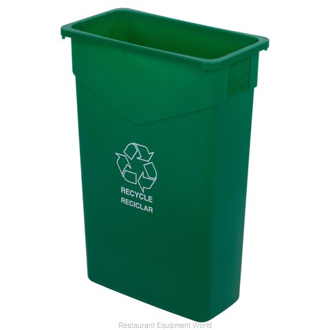 Carlisle 342023REC09 Trash Garbage Waste Container Stationary