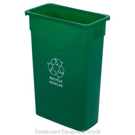 Carlisle 342023REC09 Recycling Receptacle / Container