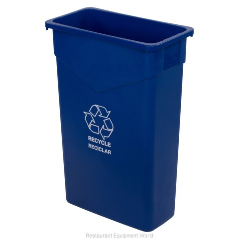 Carlisle 342023REC14 Trash Garbage Waste Container Stationary