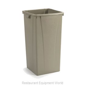 Carlisle 34352306 Trash Receptacle, Indoor