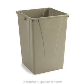 Carlisle 34393506 Trash Receptacle, Indoor