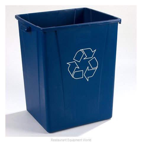 Carlisle 343950REC14 Waste Receptacle Recycle (Magnified)