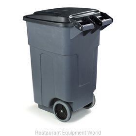 Carlisle 34505023 Trash Receptacle, Mobile