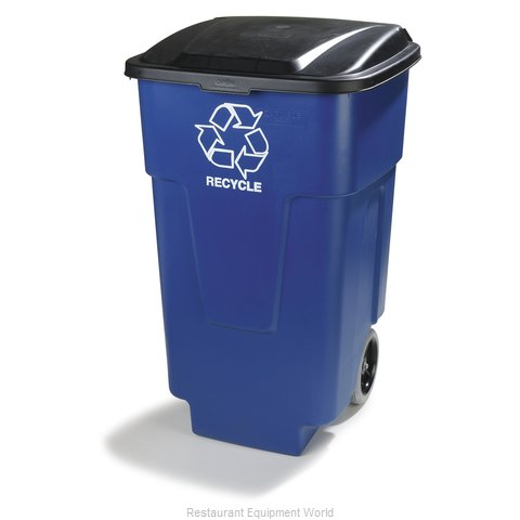 Carlisle 345050REC14 Trash Garbage Waste Container Mobile (Magnified)