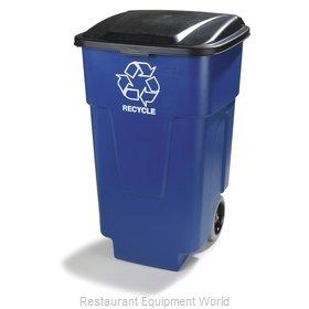 Carlisle 345050REC14 Trash Receptacle, Mobile