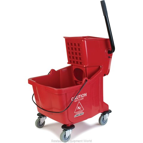 Carlisle 3690405 Mop Bucket Wringer Combination (Magnified)