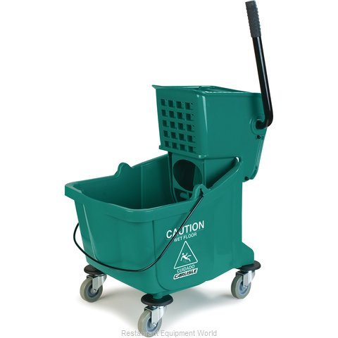 Carlisle 3690409 Mop Bucket Wringer Combination (Magnified)